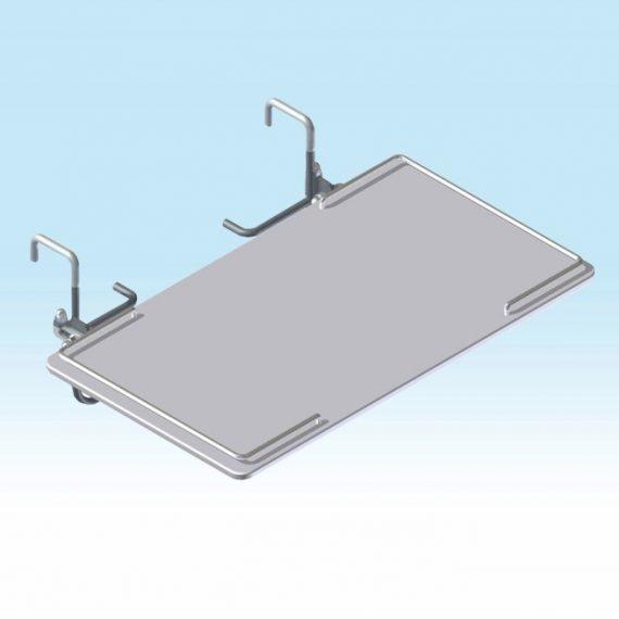 stolček sklopný HPL na čelo lôžka