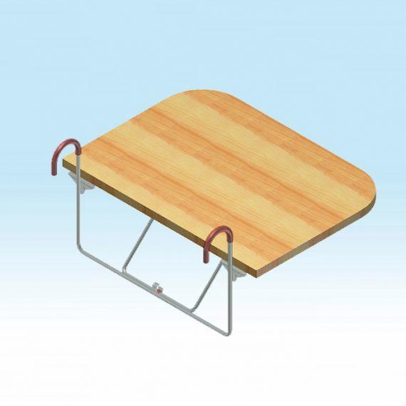 stolček sklopný na čelo lôžka